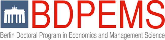 Logo of the Berlin Doctoral Program in Economics and Management Science