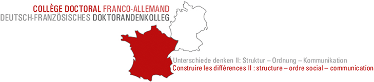 Logo of the Doctoral Program Thinking Differences: Structures – Order – Communication