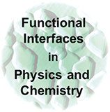 Logo of the Graduate School Functional Interfaces in Physics and Chemistry