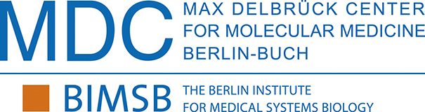 Logo of the MDC-NYU PhD Exchange Program of the Berlin Institute for Medical Systems Biology