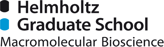 Logo of the Helmholtz Graduate School for Macromolecular Bioscience