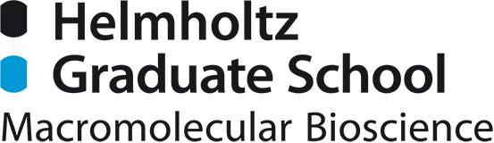 Logo of the Helmholtz Graduate School for Macromolecular Bioscience