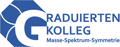 Logo of the Research Training Group Mass, Spectrum, Symmetry: Particle Physics in the Era of the Large Hadron Collider