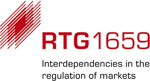 Logo of the Research Training Group Interdependencies in the Regulation of Markets