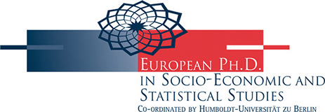 Logo of the European PhD in Socio-Economic and Statistical Studies