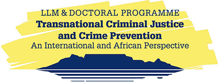logo of the doctoral program Transnational Criminal Justice and Crime Prevention – An International and African Perspective