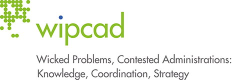 Logo of the Doctoral Program Wicked Problems, Contested Administrations: Knowledge, Coordination, Strategy