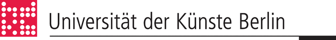 Logo of the Universität der Künste